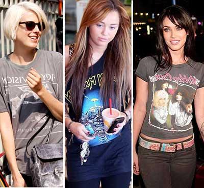 camisetas de rock