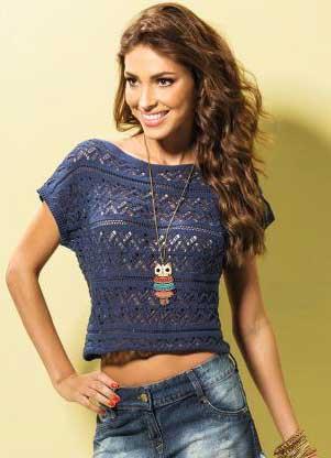 blusas de trico para inverno