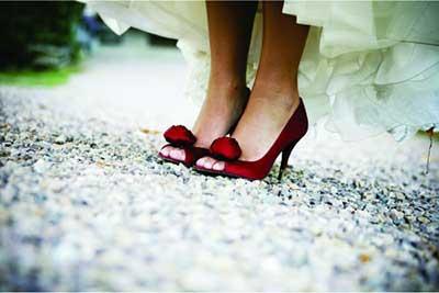 modelos de sapatos vermelhos