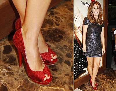 imagens de sapatos vermelhos