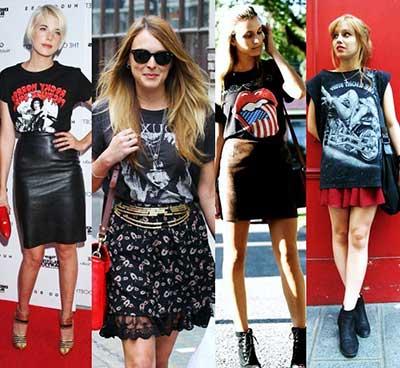 fotos de camisetas de rock