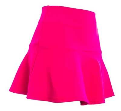 modelo cor de rosa