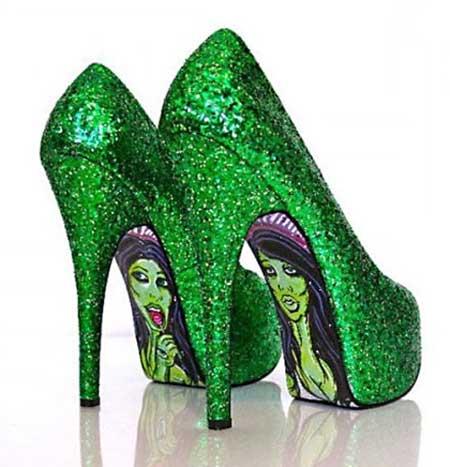 sapatos de salto da moda feminina