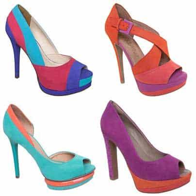 sapatos de salto lindos
