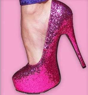 sapatos de salto femininos da moda