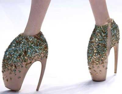 moda em sapatos de salto