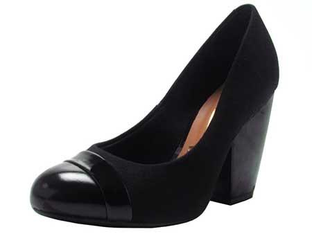 d0f619031e calçados da moda feminina. Salto grosso preto dicas de sapatos ...