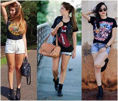 dicas de camisetas de rock