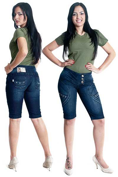 imagens de Bermuda jeans