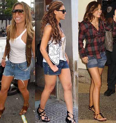modelos de Bermuda jeans