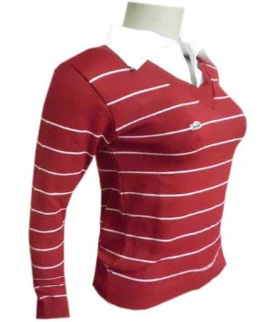 tendências de blusas da lacoste