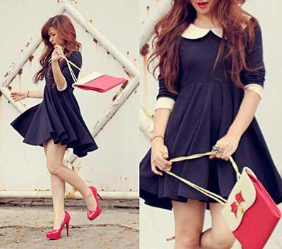 vestidos rodados da moda