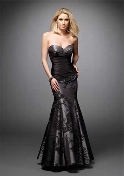 modelo de vestidos sereia