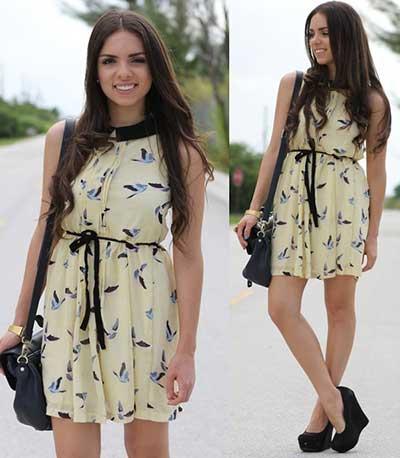 Como Usar Vestidos Soltinhos Fotos Modelos Dicas Imagens