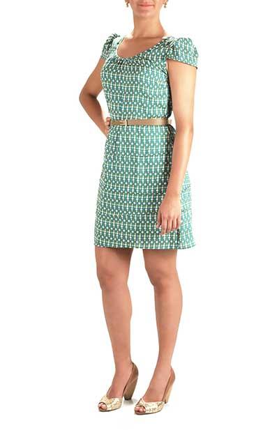 modelos de vestidos simples curto