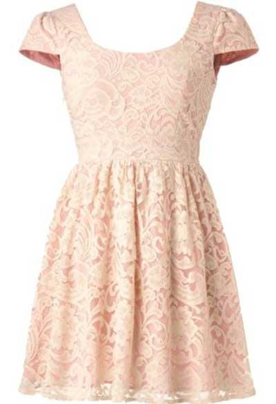 vestidos românticos da moda