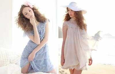 tendências de vestidos românticos