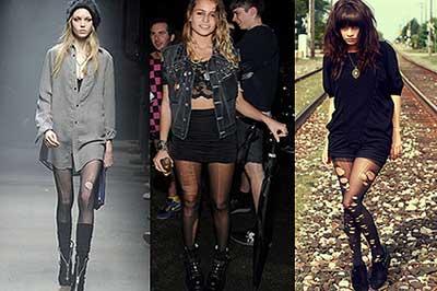 tendências de meia calça