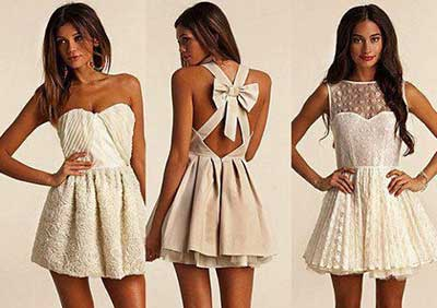 vestidos românticos