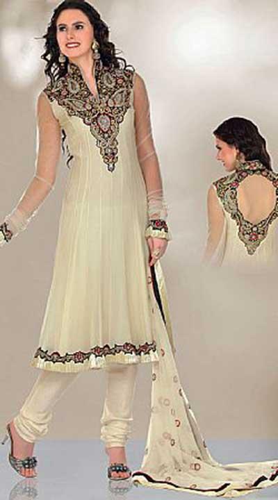 tendências de vestidos indianos