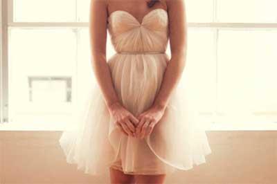 fotos de vestidos românticos