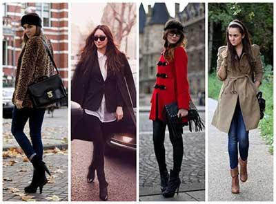 casacos de frio da moda