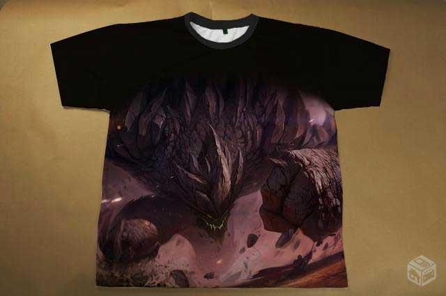 Camisetas Femininas de Games