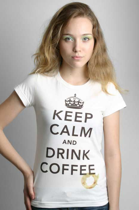 ideias de camisetas keep calm