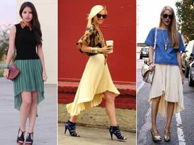 meninas com saias em fotos