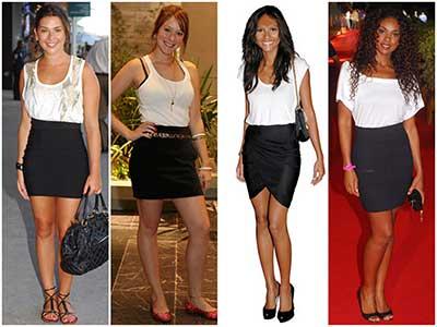 meninas com saias