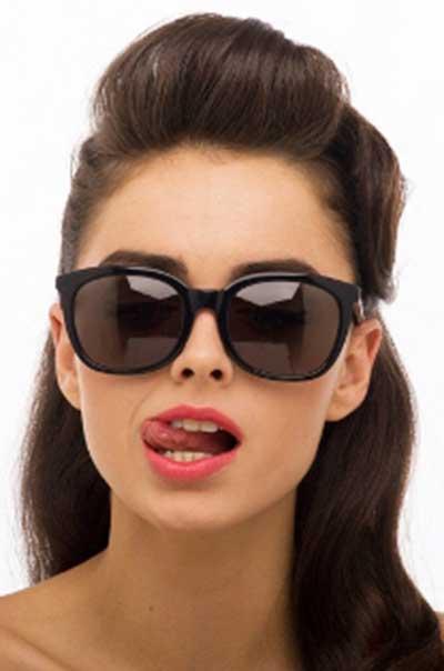 fotos de óculos preto