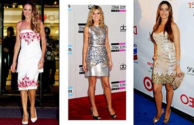 três looks femininos
