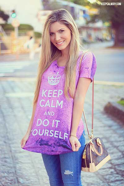 camisa keep calm