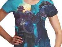 Camisetas de Jogos para Mulheres