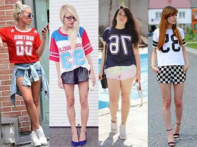 camisetas legais femininas
