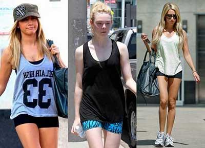 fotos de shorts colados