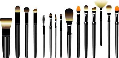 imagens de pincéis para maquiagem