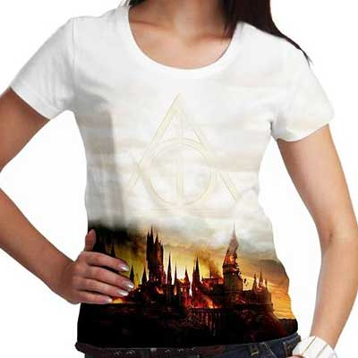 modelos de camisetas do harry potter