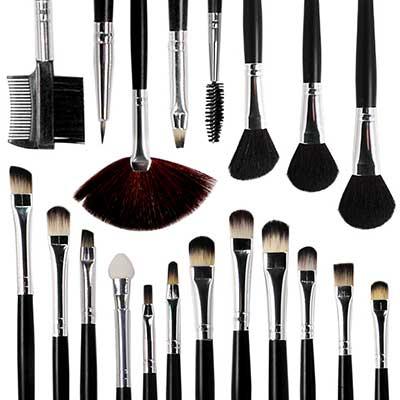 sugestões de pincéis para maquiagem