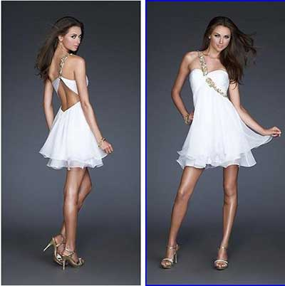 fotos de vestidos brancos