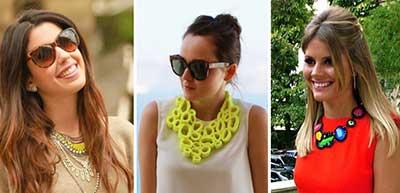 modelos de lindos colares