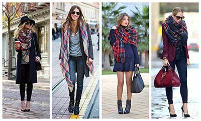 fotos de cachecol feminino