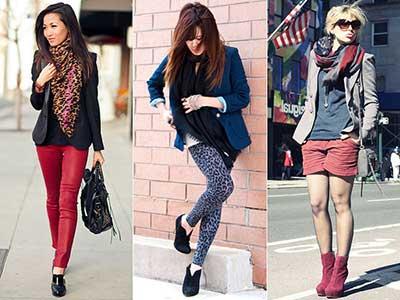 cachecol feminino da moda