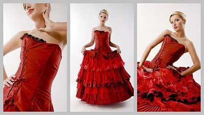 mulheres de vestidos em imagens