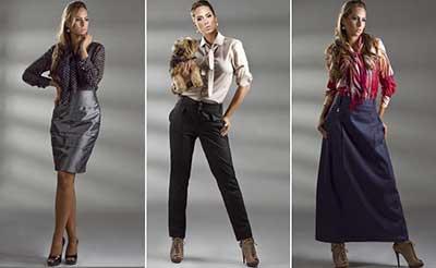 roupas sociais para mulheres