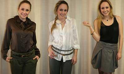 fotos de roupas sociais femininas