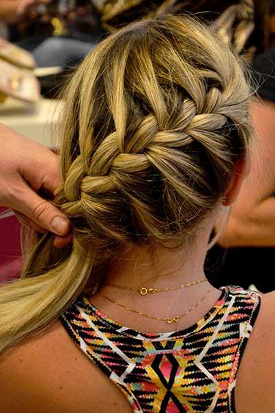 mais lindos modelos de penteados