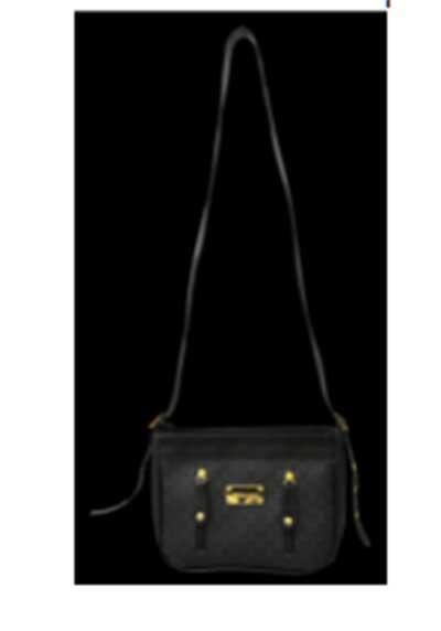 modelo de bolsa preta