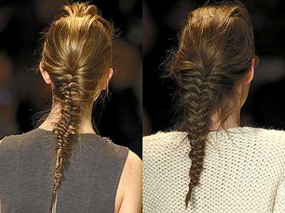 penteados com espinha de peixe