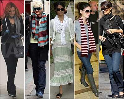 fotos de modelos de echarpe